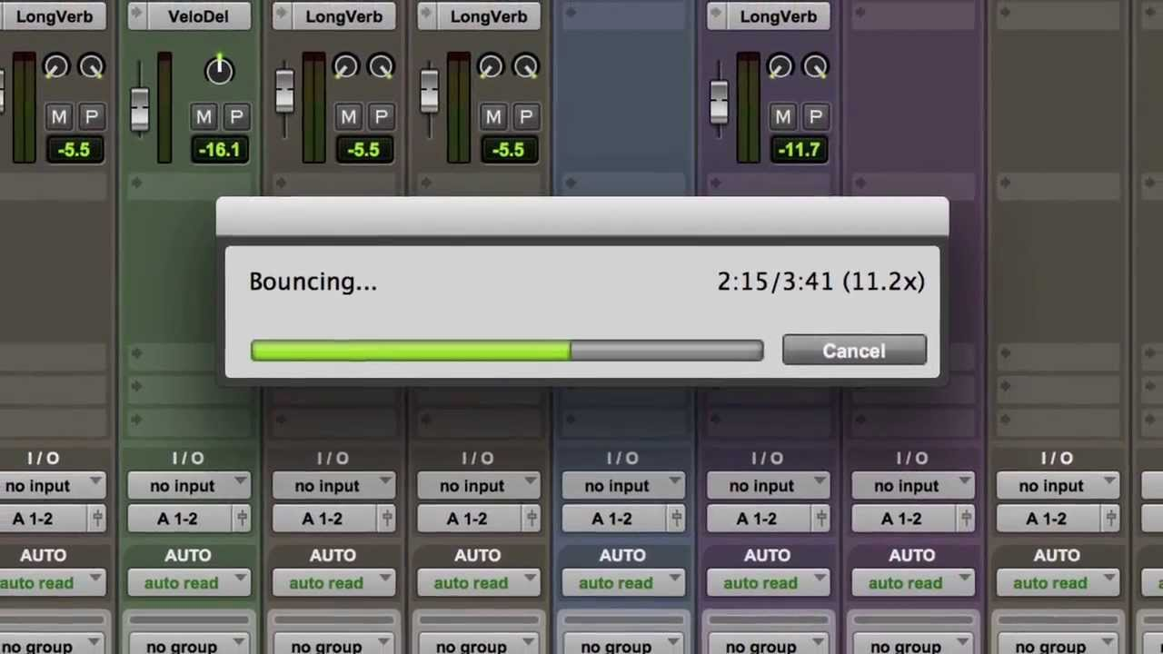 Bouncing Stems