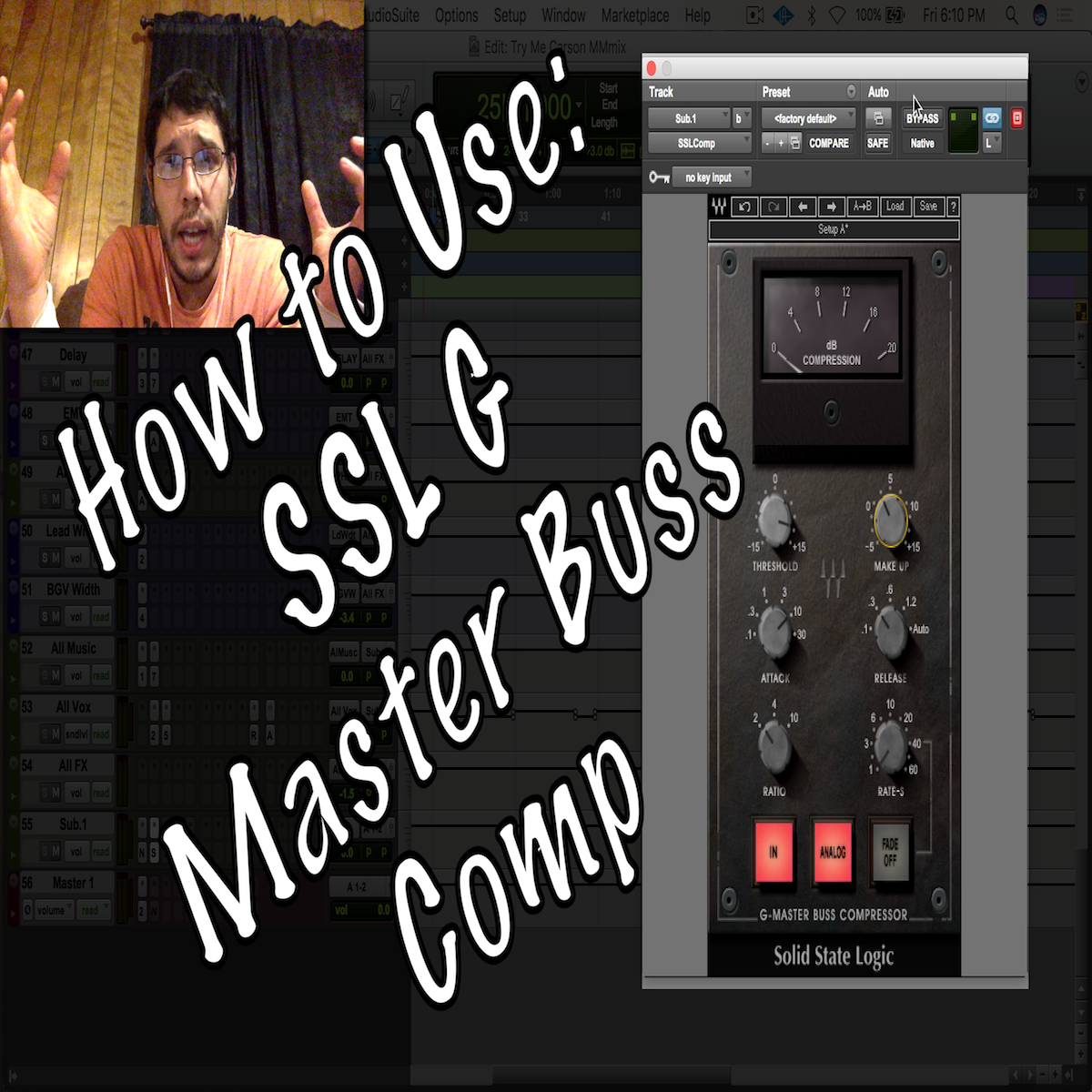 How to Use: Waves SSL Compressor