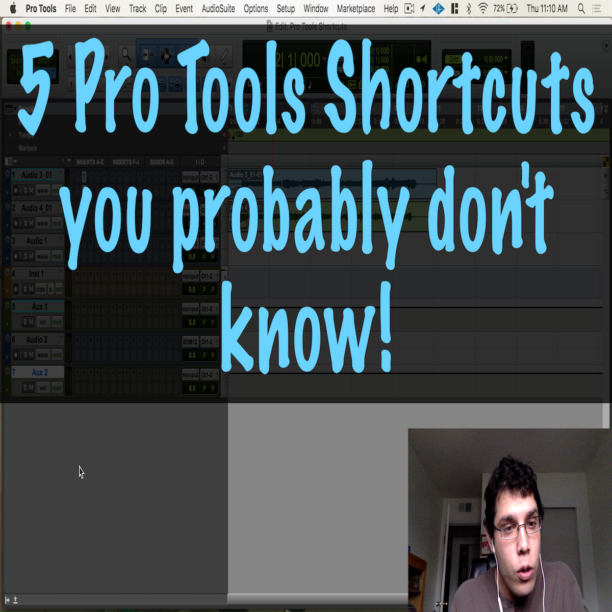 5 Pro Tools Shortcuts You Probably Don't Know!