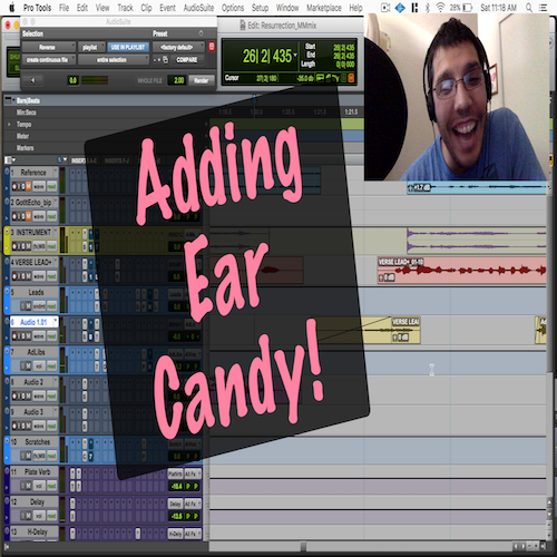 Ear Candy Part 1: Using stock plugins!