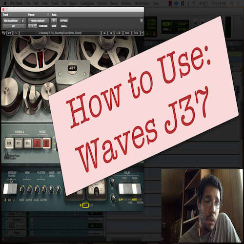 How To Use: Waves J37