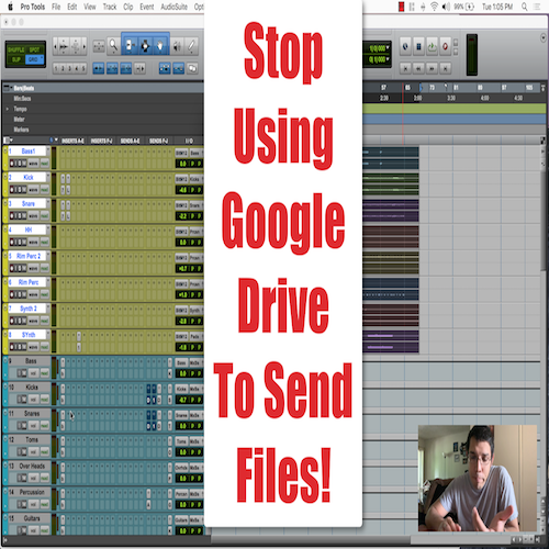 Stop Using Google Drive To Send Files!
