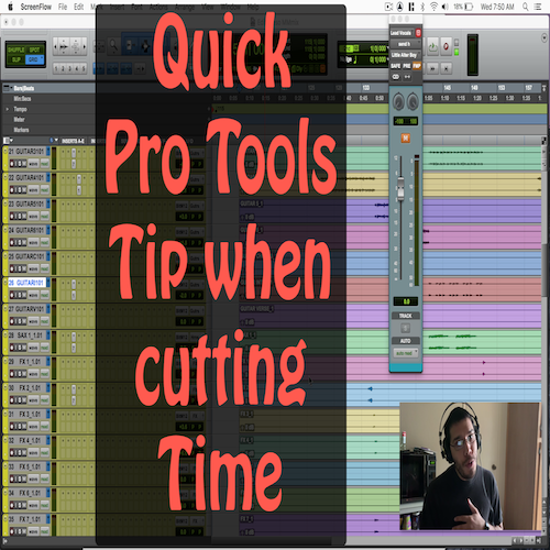 Quick Avid Pro Tools Tip: Cutting Time