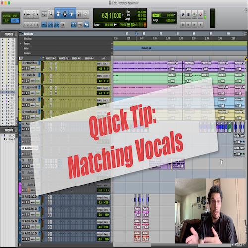 Quick Tip: Matching Vocals