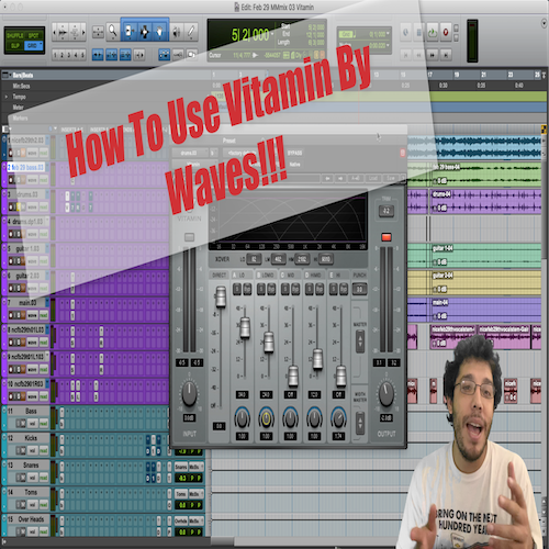 How To Use: Waves Vitamin Sonic Enhancer Plugin @MattMontanez