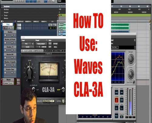 how to use waves cla3a - matt montanez